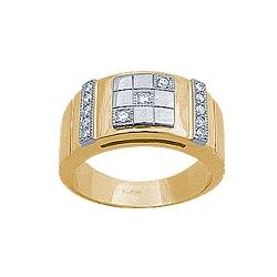 Печатка с бриллиантами