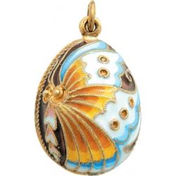 Яйцо-подвеска Бабочка