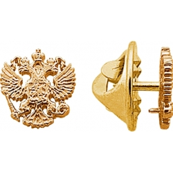 Значок золотой герб России