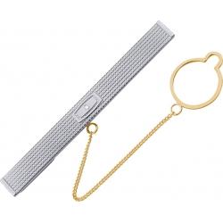 Зажим для галстука с бриллиантом