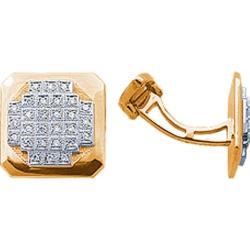 Запонки с бриллиантами