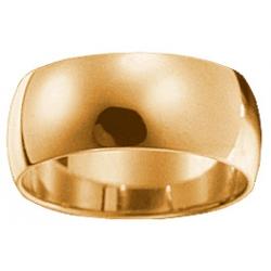 Кольцо обручальное гладкое