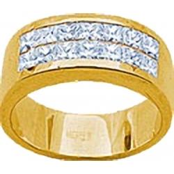 "Кольцо с бриллиантами в невидимой закрепке ""Invisible"""