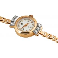 Часы с браслетом и бриллиантами